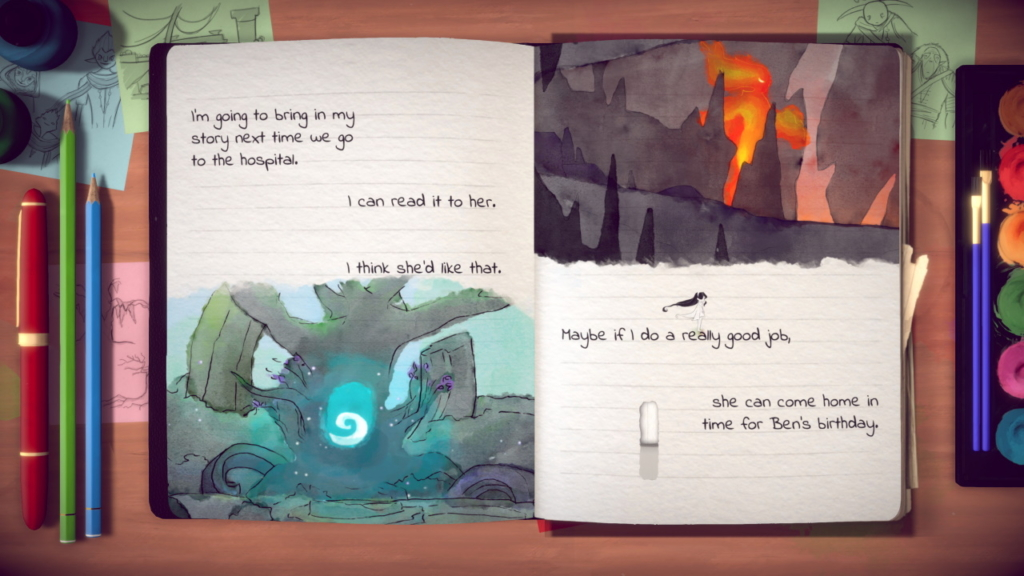 Lost Words: Beyond the Page, narrative-driven puzzle-platformer.