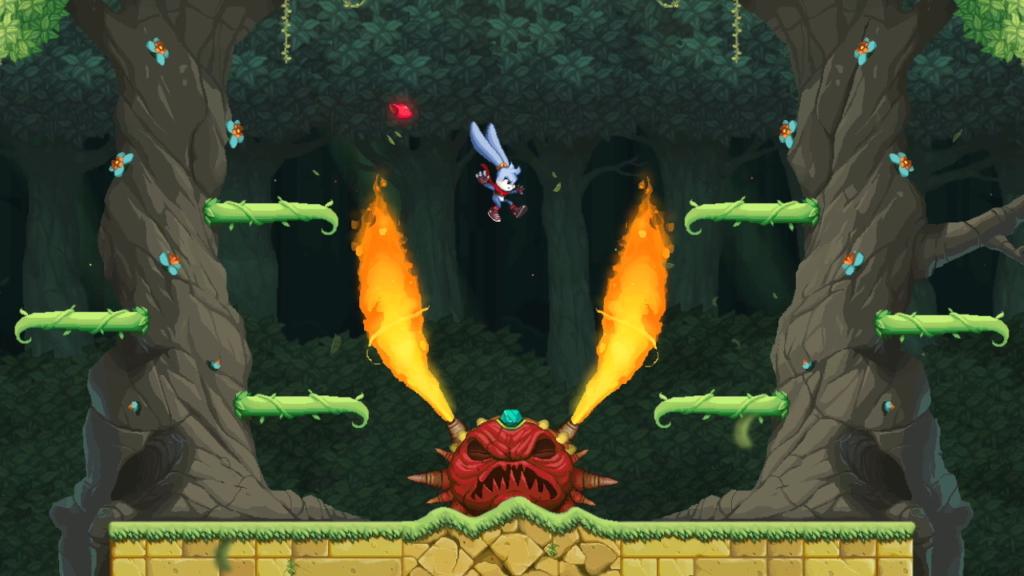 Kaze and the Wild Masks boss battle.