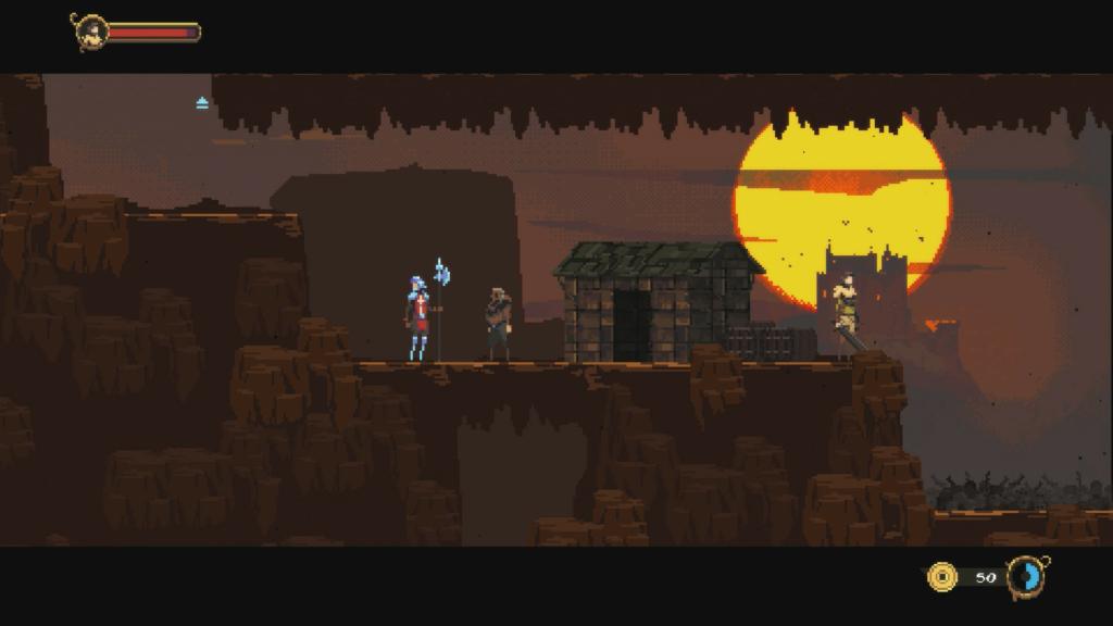 Guild of Darksteel pixel art.