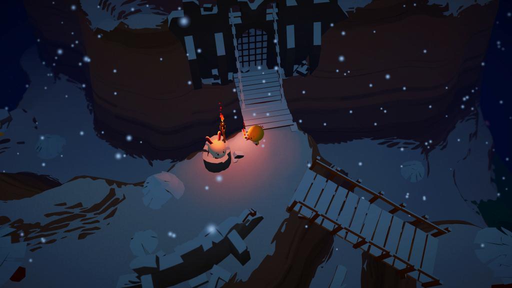 Haven Park exploration gameplay.