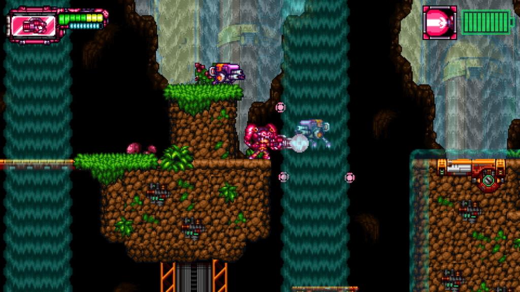 Metaloid: Origin shoot 'em up gameplay.