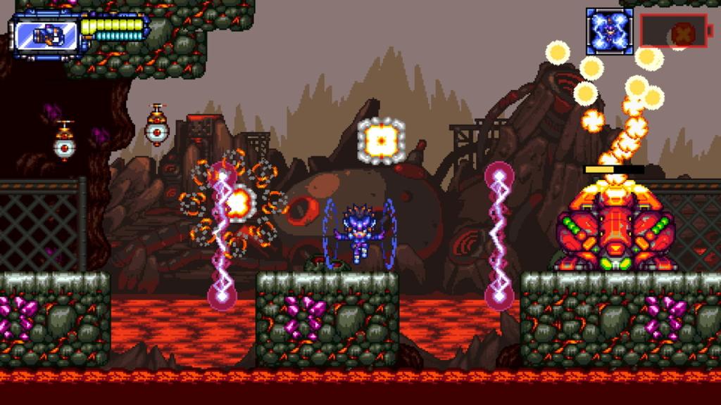 Metaloid: Origin on PlayStation 4.